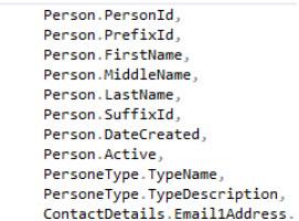 top segment person data